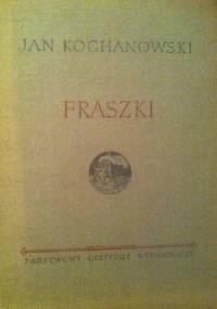 Fraszki. Wybór - Jan Kochanowski