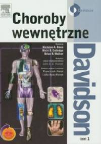 Choroby wewnętrzne Davidson Tom 1