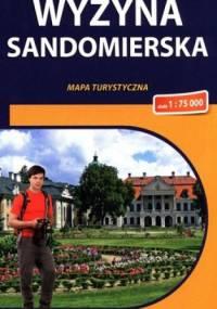 Wyżyna Sandomierska. Mapa turystyczna. 1 : 75 000. Compass