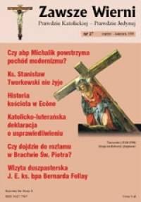 Zawsze wierni, marzec-kwiecień 1999 - Redakcja pisma Zawsze wierni