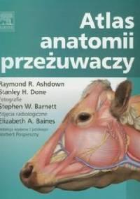 Atlas anatomii przeżuwaczy - Raymond R. Ashdown, Stanley H. Done