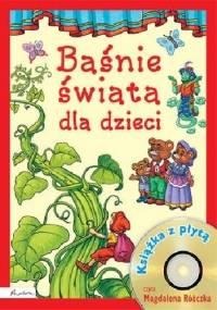 Baśnie świata dla dzieci. Książka z płytą - Anna Sójka