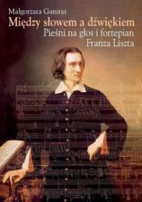 Między słowem a dźwiękiem - Małgorzata Gamrat