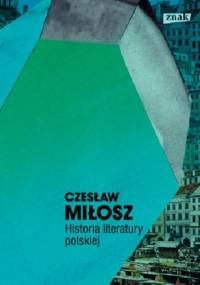 Historia literatury polskiej - Czesław Miłosz