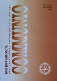 Communio 2/2006 - Bóg jest Miłością - praca zbiorowa
