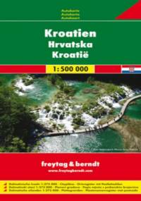 Chorwacja. Mapa samochodowa