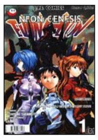 """Neon Genesis Evangelion 1/01: """"Nagrobek""""/""""Powstrzymaj grawitacyjny atak!"""" - Yoshiyuki Sadamoto"""