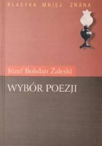 Wybór poezji - Józef Bohdan Zaleski