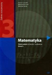 Matematyka 3. Zbiór zadań. Zakres rozszerzony - Elżbieta Świda, Marcin Kurczab