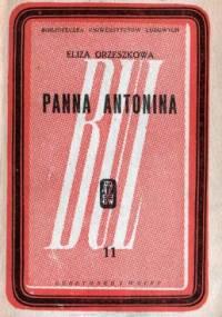 Panna Antonina - Eliza Orzeszkowa