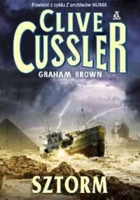 Sztorm - Clive Cussler, Graham Brown
