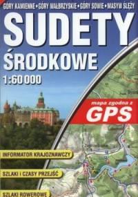 Sudety Środkowe. Mapa turystyczna. Laminowana. GPS. 1:60 000 ExpressMap