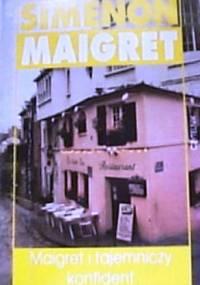 Maigret i tajemniczy konfident - Georges Simenon
