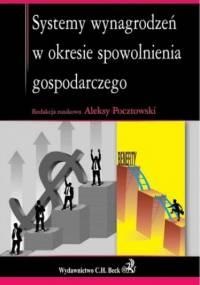 Systemy wynagrodzeń w okresie spowolnienia gospodarczego - Aleksy Pocztowski