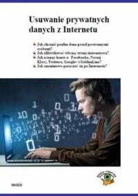 Usuwanie prywatnych danych z Internetu - praca zbiorowa