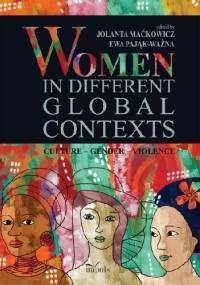 Women in different global contexts - Maćkowicz Jolanta Pająk-Ważna Ewa