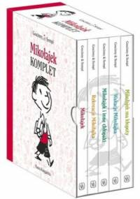 Mikołajek + Rekreacje Mikołajka + Mikołajek i inne chłopaki + Wakacje Mikołajka + Mikołajek ma kłopoty (komplet) - Rene Goscinny, Jean-Jacques Sempe