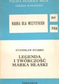 Legenda i twórczość Marka Hłaski - Stanisław Stabro