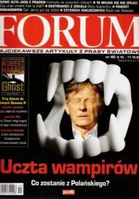Forum, nr 40 (2302) / 5.10-11.10.2009 - Redakcja pisma Forum
