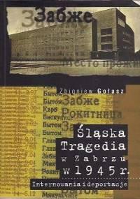 Śląska tragedia w Zabrzu w 1945 roku. Internowania i deportacje - Zbigniew Gołasz