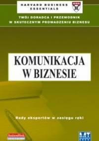 Komunikacja w biznesie - Anna Żółcińska