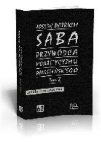 Saba - przywódca monastycyzmu palestyńskiego t. 2 - Joseph Patrich