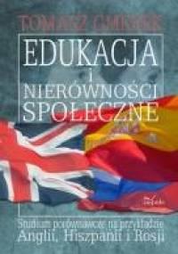Edukacja i nierówności społeczne - Tomasz Gmerek