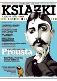Książki. Magazyn do czytania, nr 7 / grudzień 2012