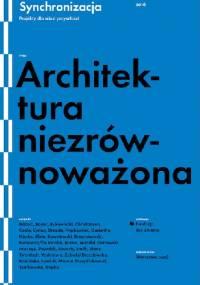 Architektura niezrównoważona - praca zbiorowa