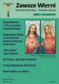 Zawsze wierni, maj-czerwiec 1999 - Redakcja pisma Zawsze wierni
