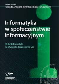 Informatyka w społeczeństwie informacyjnym