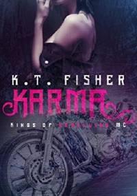 Karma (Kings of Rebellion MC Book 1) - K.T. Fisher