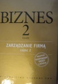 Zarządzanie firmą, część 2 - praca zbiorowa, Arleta Chorąży