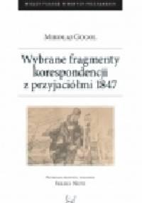 Wybrane fragmenty z korespondencji z przyjaciółmi 1847 - Mikołaj Gogol