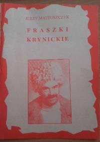 Fraszki Krynickie - Jerzy Mateuszczyk