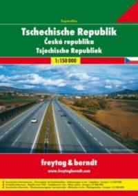 Czechy. Atlas Freytag & Berndt 1:150 000