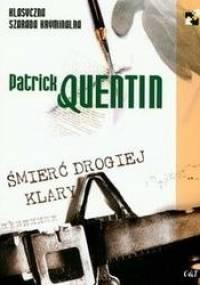Śmierć drogiej Klary - Patrick Quentin