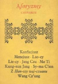 Aforyzmy chińskie