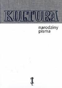 Kultura narodziny pisma