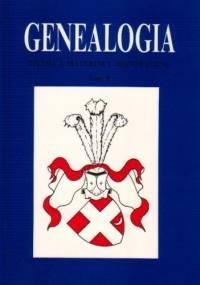 Genealogia. Studia i materiały historyczne, tom 8 - Marek Górny
